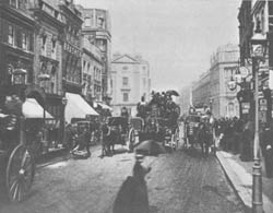 135. CHARLES A. WILSON. OXFORD STREET, LONDON, 1887.